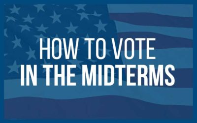 How To Vote In The 2018 Midterm Elections